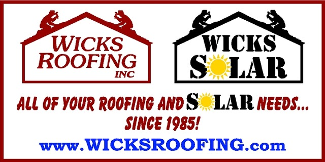 Wicks Roofing and Solar with Website